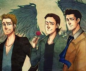 angel, balthazar, and gabriel image