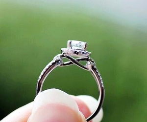 infinity, ring, and wedding image