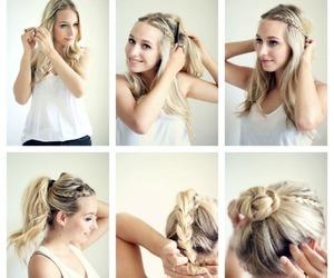 pretty, tutorial hair, and tutorials image