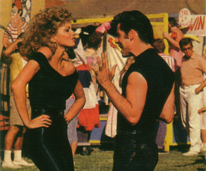 grease, movie, and John Travolta image