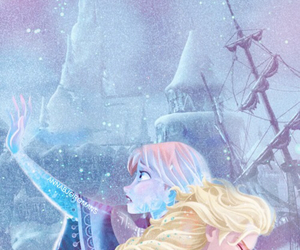 anna, frozen, and anna and elsa image