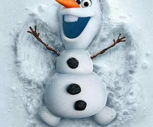 frozen, movies, and olaf image