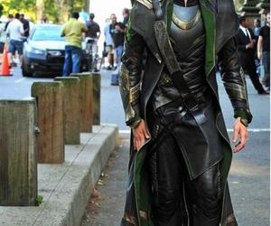 loki, tom hiddleston, and the avengers image