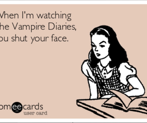 ecards, the vampire diaries, and delena image