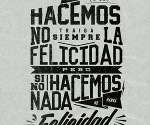 felicidad, yo, and frases en español image