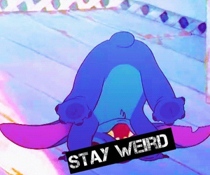 stitch, weird, and stay image