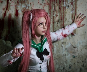 cosplay, anime, and highschool of the dead image