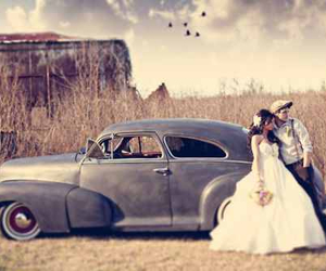 vintage, love, and wedding image
