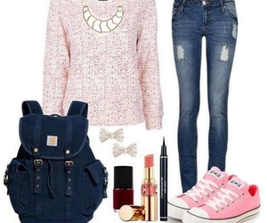 clothes, pink, and outfits image