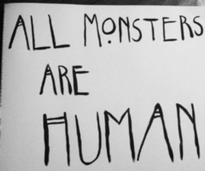 human and monster image