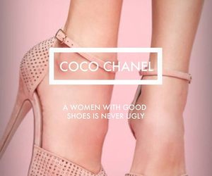 coco chanel, pink, and fashion image
