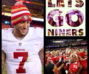 49ers, red&gold, and let's do this boys image