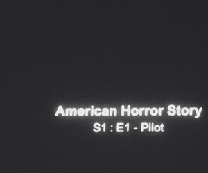 american horror story, ahs, and pilot image