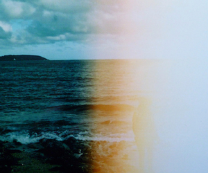 sea, photography, and vintage image