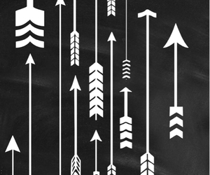 arrows, background, and tumblr image