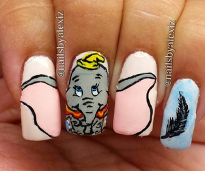 dumbo and nails image