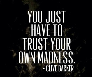 quotes, madness, and trust image