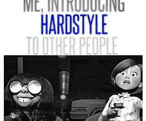 funny, music, and hardstyle image