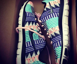 nike, shoes, and aztec image