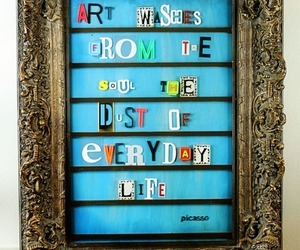 picasso and quote image