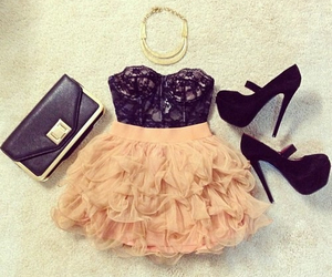 black peach heels image