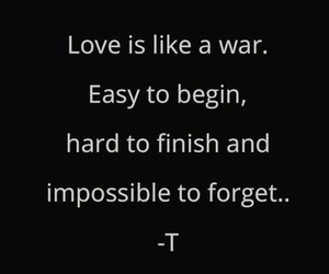 end, quote, and love image