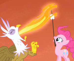 fire, Gilda, and marshmallow image