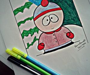 cartoon, South park, and draw image