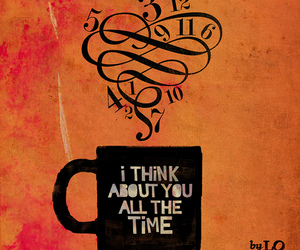 coffee, quote, and think image