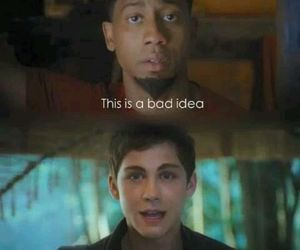 funny and percy jackson image