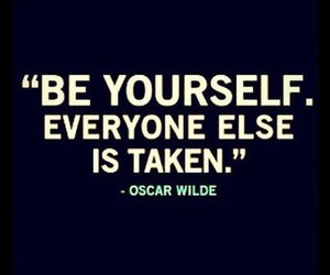 be, quote, and oscar wilde image