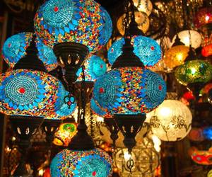 istanbul and light image
