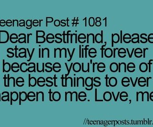 best friends, forever, and quotes image