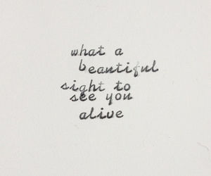 quote, alive, and love image