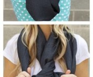 diy, how to, and scarf image