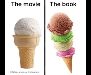 books, fandoms, and cream image