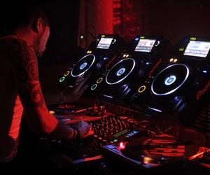 dj, club, and dance image