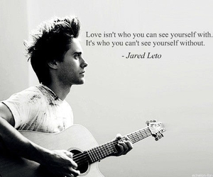 jared leto, love, and quotes image