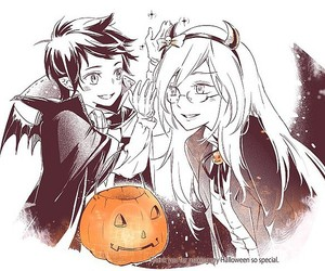hallowen, ice queen, and marshall lee image