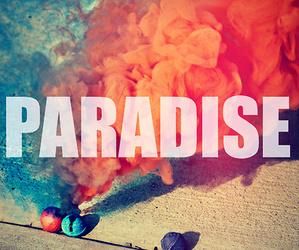 colors, paradise, and smoke image