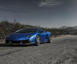cars, Lamborghini, and gallardo image