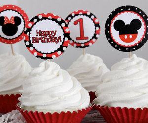 birthday, mickey mouse, and minnie mouse image
