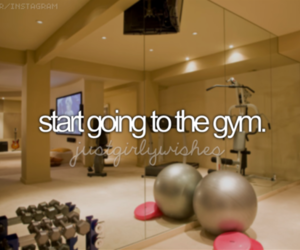 gym, fitness, and workout image