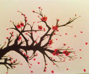 acrylic, blossom, and nature image