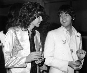 jimmy page, led zeppelin, and Paul McCartney image