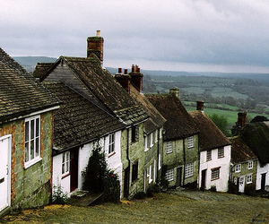 house, england, and landscape image
