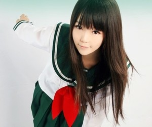cosplay, inuyasha, and kagome higurashi image
