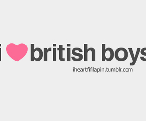 boy, love, and british image