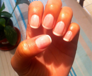 francesa, french, and manicure image