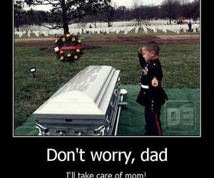 dad, sad, and mom image